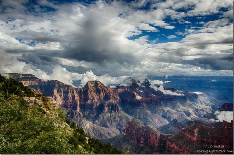 Inversion North Rim Grand Canyon National Park Arizona