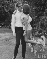 Michael Caine with Natalie Wood