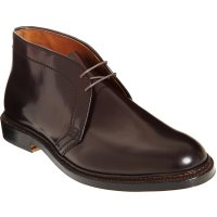 Alden Plain Toe Chukka in cordovan