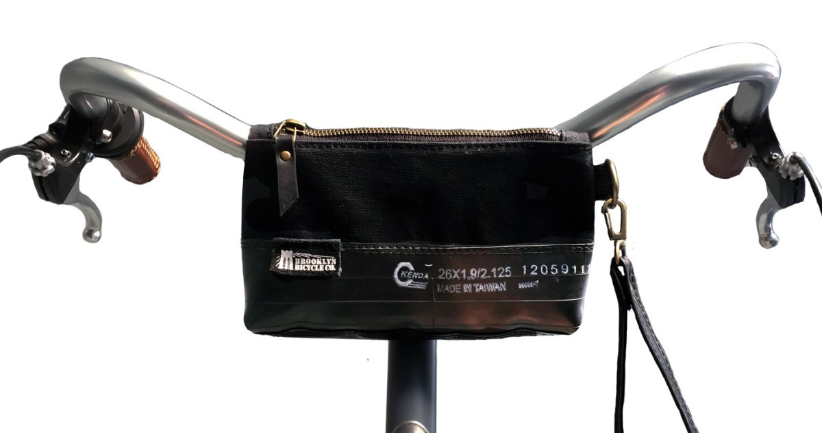 A Smart New Handlebar Bag from Brooklyn Bicycle Co.