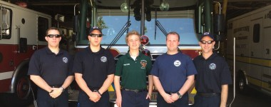 Georgetown Fire Recognizes MASCO Student for Completing Department Internship