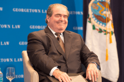 Justice Antonin Scalia / Photo: Georgetown University Law Center