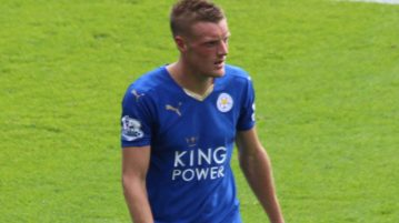 Leicester's Jamie Vardy By Pioeb - Own work, CC BY-SA 4.0, https://commons.wikimedia.org/w/index.php?curid=43066849