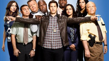 The gang returns for season four http://www.thedailybeast.com/articles/2015/09/27/did-brooklyn-nine-nine-jump-the-shark.html