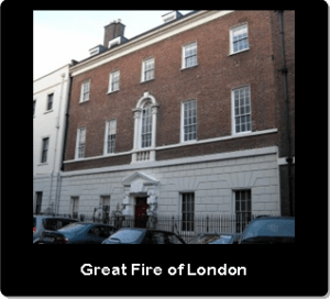 1. Great Fire of London