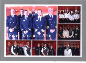 Most of the Baroness' staff and crew are in this photo.