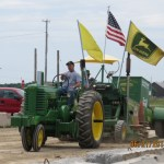 At the antique tractor pulls on Saturday