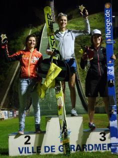 1 Podium filles Jun-Sen