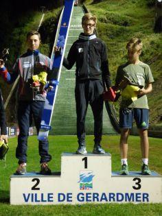3 podium garçons U15-U17