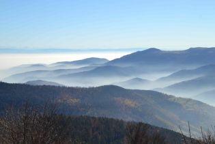 La plaine d'Alsace noyée dans la brume (1)