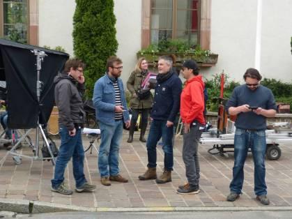 L'équipe de tournage