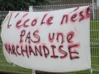 collège Granges Cercueil flamme marche (5)