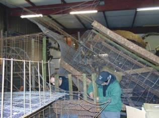 préparation chars fete des jonquilles 2017 (2)