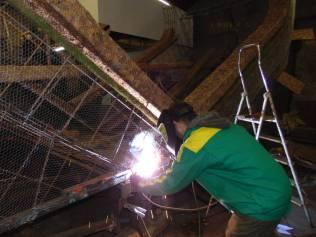 préparation chars fete des jonquilles 2017 (3)