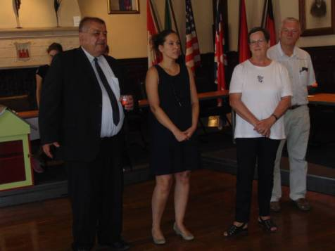 Jacques Chabot, Aurélie Van Keerberghen, Marie-Rose Briot & Jean-Paul Tisserant
