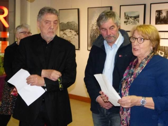JF Duval, Vincent Ganay, et Denuse Foinant