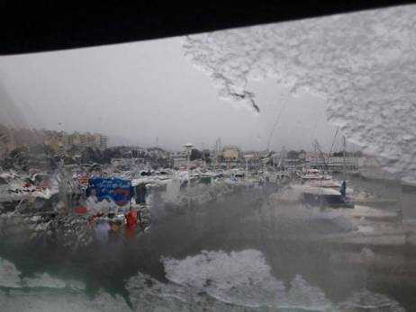 Marseille sous la neige