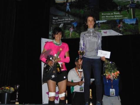 Bravo à Christine Denis-Billet e l'Athlé- Club de St Julien en Haute Savoie et Evelyne Ulrich de Barr, respectivement 1e et 2de Féminine du 90 km