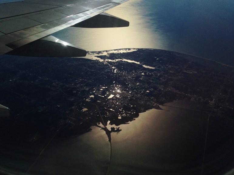 IMG_6573s, plane over Florida