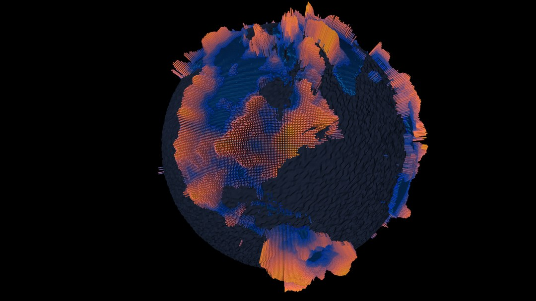 globe depth map