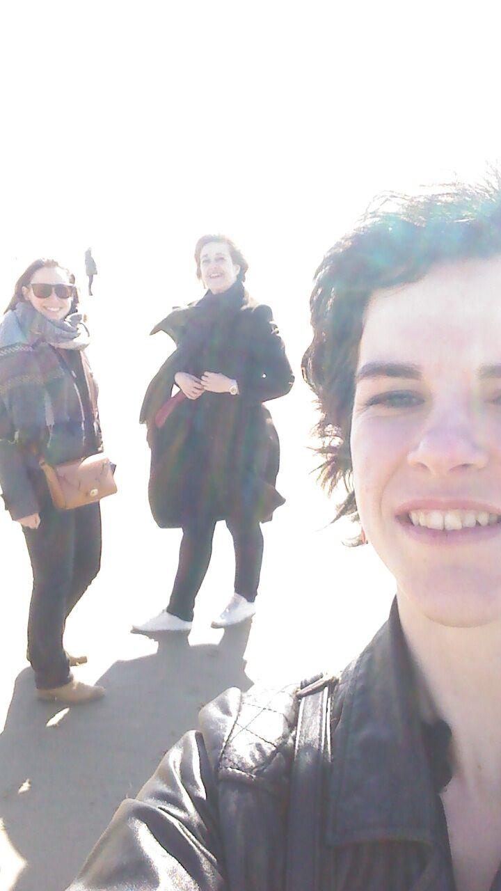 Deborah, Nathalie en Christine