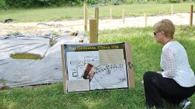 Germanna archaeology site open house at Germanna Foundation 2015 reunion in July.
