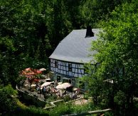 Eltzbachtal Mühle mill cafe in the Eifel