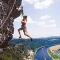 freeclimbing Saxon Switzerland