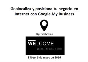 Geolocaliza y posiciona tu negocio en Internet con Google My Business