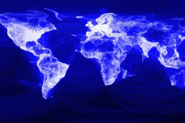 Globale Vernetzung über facebook; Quelle: YouTube.com
