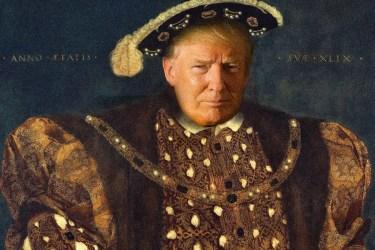 Donald Trump als König Henry VIII. Quelle: newyorker.com