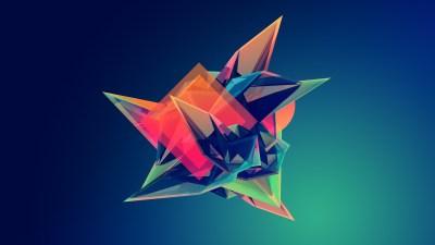 Wallpaper : 2560x1440 px, digital art, Facets, geometry, Justin Maller 2560x1440 - wallpaperUp ...