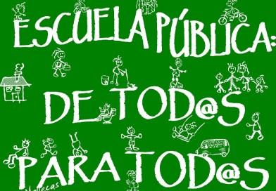La Plataforma por la Escuela Pública organiza el coloquio Con la LOMCE a cuestas