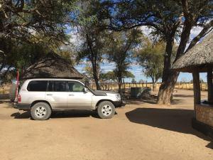 Land Cruiser on Safari