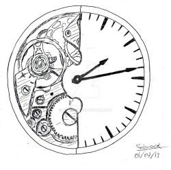 Christmas Personal Use Art Clock Clock Artwork Broken Clock Drawing Clock Drawing At Free