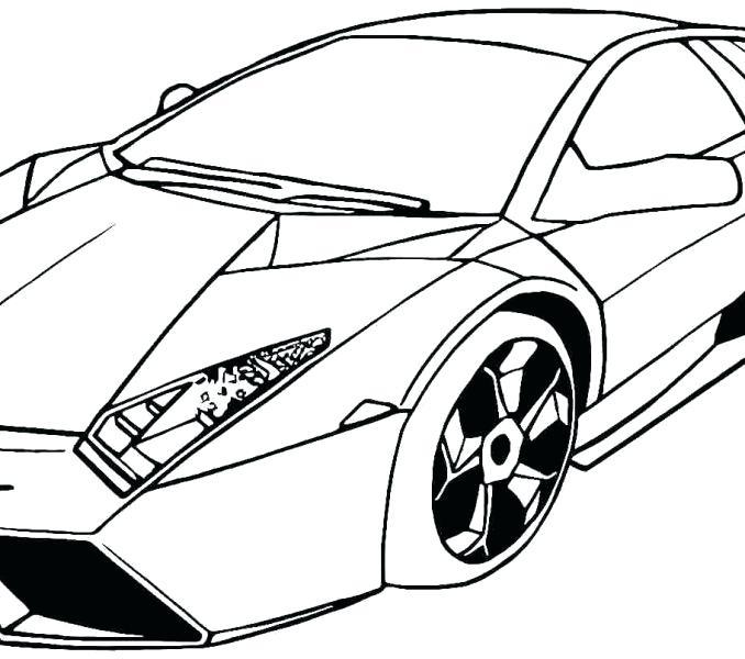 U Lamborghini Aventador Drawing Outline At Getdrawings Com Free For ...