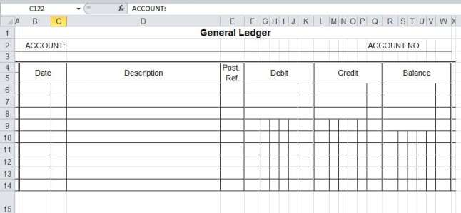 general ledger template 111