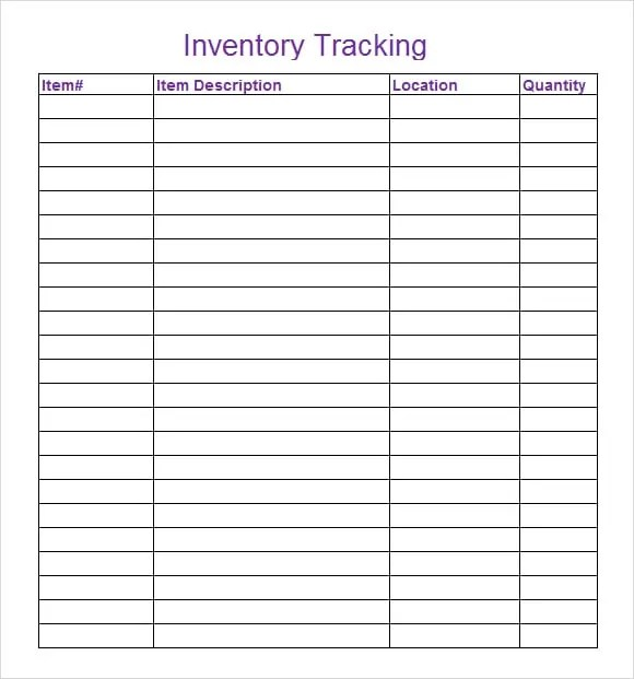 inventory tracking template 222