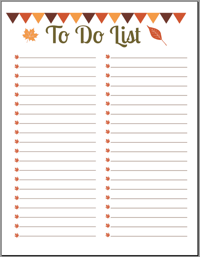 Beautiful Editable To Do List Template Images - Sample Resumes ...
