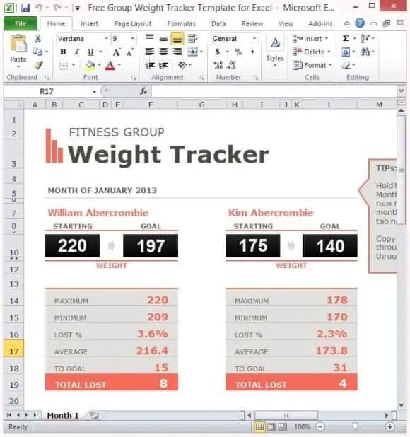 9+ Weight Loss Challenge Spreadsheet Templates | uspensky-irkutsk.ru