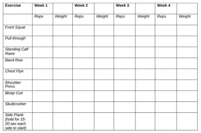 weight loss template 64871