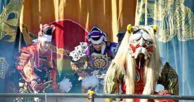 Kagura at Miyajima Oyster Festival