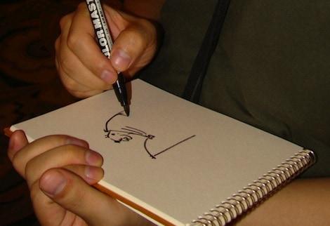 Animator Sketch