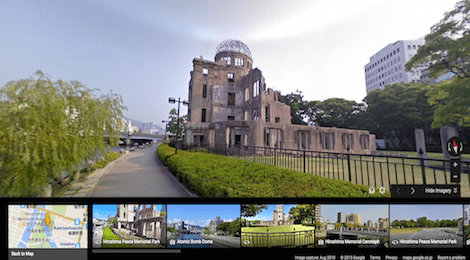 Hiroshima on Google Street View th