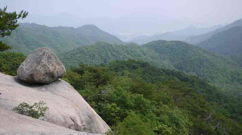 View from Omusubi Iwa 642m