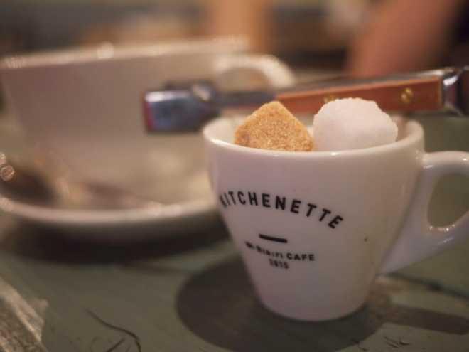 Kitchenette coffee