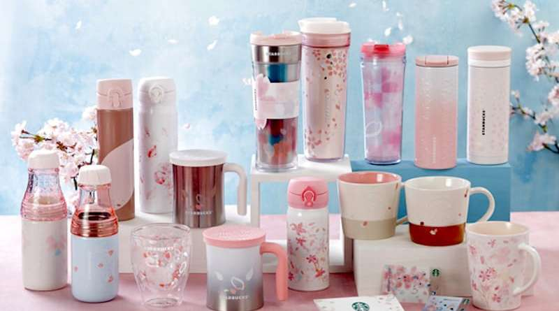Starbucks 2017 Limited Edition Sakura Products: Purity