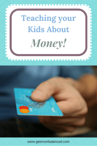 Kids need to learn from parents about money, otherwise where will they learn? Our values as moms influence what we teach. Read now or pin for later.
