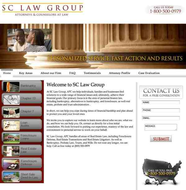 Does SC Law Group Sound Like a Scam?   Jake