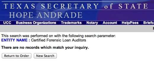 Certified Forensic Loan Auditors Offers Quiet Title Class